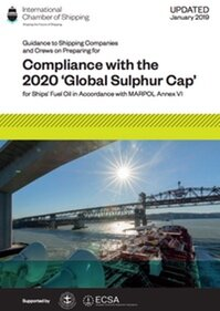 International Chamber of Shipping provisional guidance on compliance with the 2020 'Global Sulphur Cap