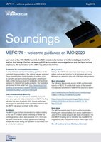 May, 2019 - Sulphur Series 04: MEPC - Welcome Guidance on IMO 2020