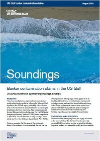 August, 2018 - Bunker Contamination Claims in the US Gulf