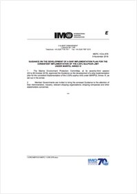 IMO guidance for Shipboard Implementation Plans