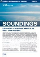 December, 2015 - Enforcement of Arbitration Awards