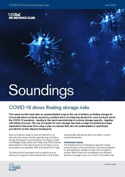 June, 2020 - COVID-19 drives floating storage risks