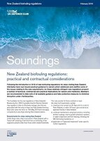 February, 2019 - New Zealand biofouling regulations