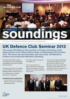 November 2012 - UK Defence Club Seminar 2012
