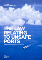 The Law Relating To Unsafe Ports