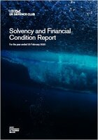 Solvency and Financial Condition Report, 2020